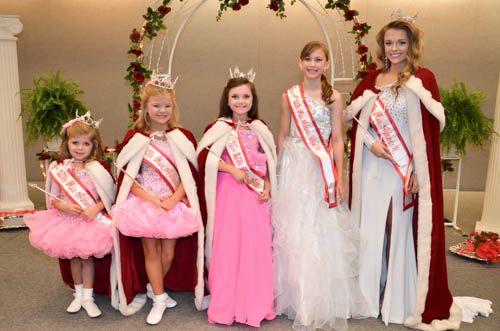 This was our 36th annual Little Miss Arkansas pageant held at the Hot Springs  Convention Center in downtown Hot Springs, AR. The winners were: Baby Little Miss Arkansas 2015-(Not Shown)  Lilah Martinez Tiny Little Miss Arkansas 2015- Brynlee Crutchfield Petite Little Miss Arkansas 2015-Madilyn Kifer Pre-Teen Little Miss Arkansas 2015-Chloe Hargis Teen Little Miss Arkansas 2015-Skyler Hart Over-All Little Miss Arkansas Talent 2015-Bailey Riley