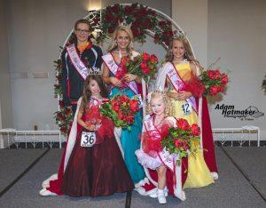2021 Little Miss Arkansas winners